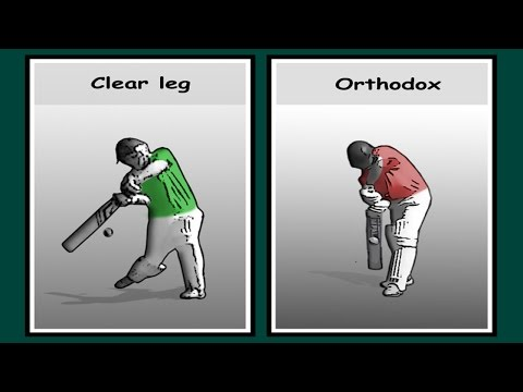 How to cricket, batting tips, clear leg to score at 6 runs plus per over