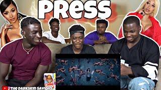 Cardi B - Press [Official Music Video](Reaction)