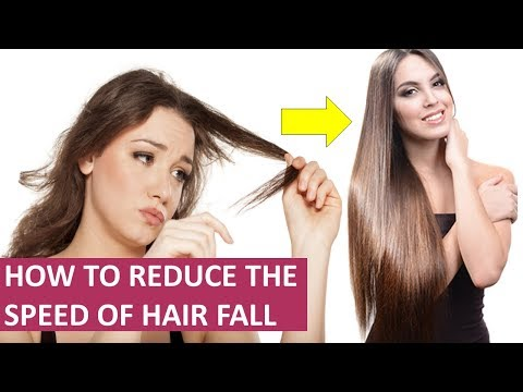 How To Reduce The Speed Of Hair Fall Naturally at Home