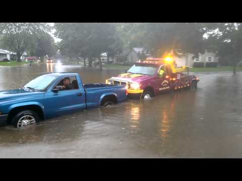 Tjz towing rescuing my neighbor