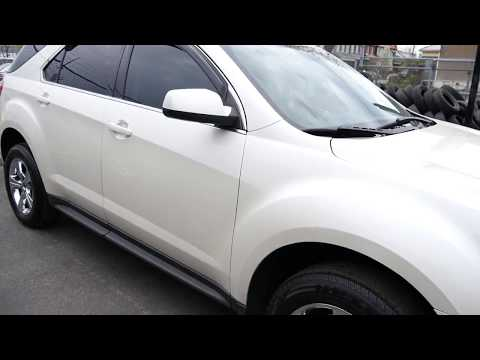 2011 CHEVROLET EQUINOX WITH 17 INCH CHROME RIMS & TIRES