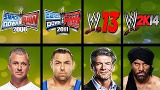 Lowest Rated Wrestlers Ever In WWE Games (Smackdown HCTP - WWE 2K18)