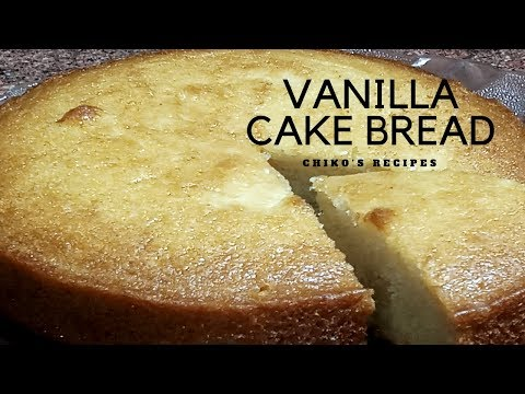 | VANILLA CAKE BREAD || LG CONVECTION MICROWAVE OVEN || EGGLESS || CHIKO'S RECIPES || EASY RECIPE |