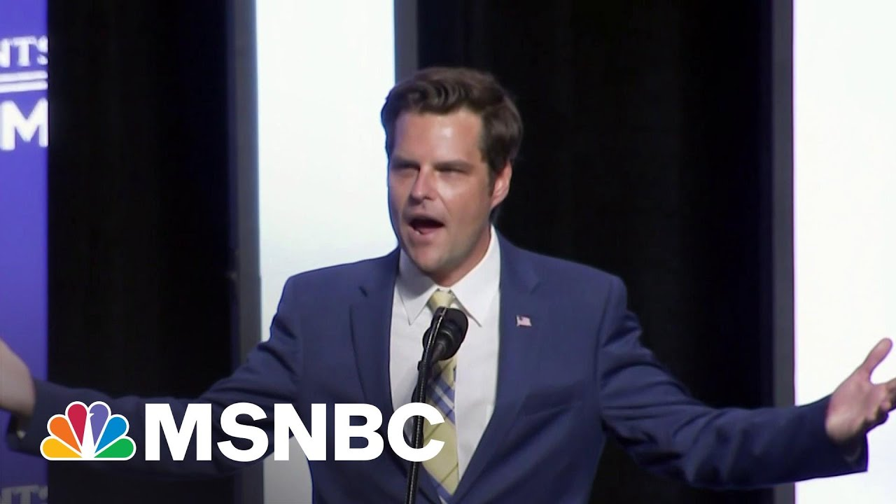 Why Matt Gaetz Is A Product Of The Modern Republican Party | All In | MSNBC