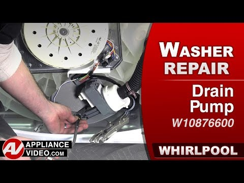 Whirlpool Washer - Not draining drain Pump - Diagnostic & Repair