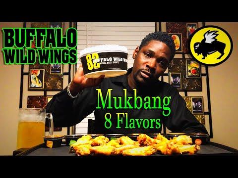 Buffalo Wild Wings Mukbang / Review / MKBites