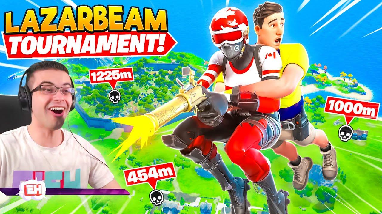 Nick Eh 30 reacts to LazarBeam's YEET Tournament!