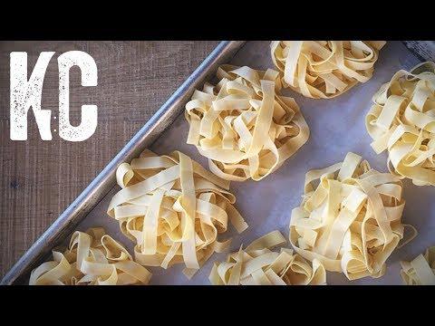 How to Make Pasta | Fresh Tagliatelle Recipe