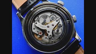 Poljot 2612 Powered ZZero Mechanical Wrist Alarm Watch