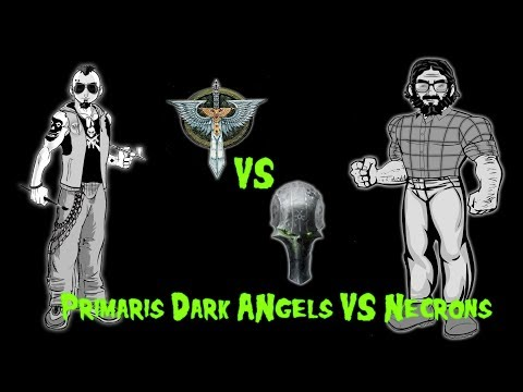 Errant Battles EP 13: Dark Angels vs. Necrons