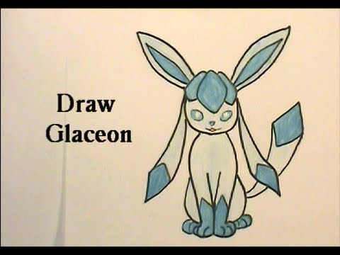 Draw Glaceon - Pokemon No. 471 Tutorial