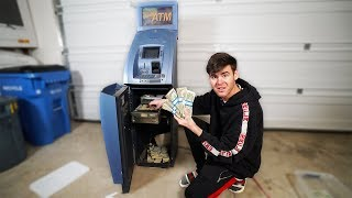 We Broke Into An Old ATM Machine & Found Money...