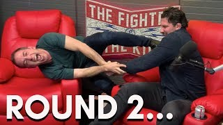 Bryan Callen Vs Brendan Schaub Jiu Jitsu Tussle Round 2