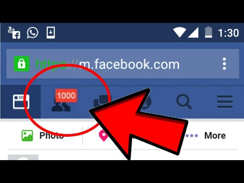 100000% Working Trick To Get 1000 Friend Requests/Followers On Facebook In One Minute Hindi || 2017