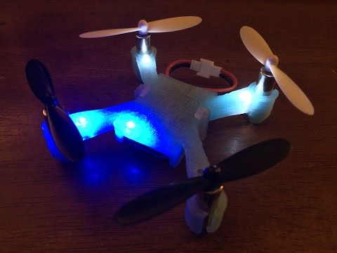 3D Printed Replacement Body for Hubsan X4