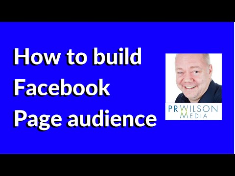 How to build Facebook audience 2015