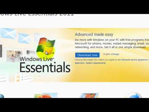 How to Install Windows Essentials 2011