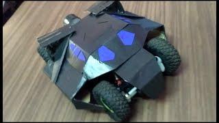 how to modify batman car from rock crawler