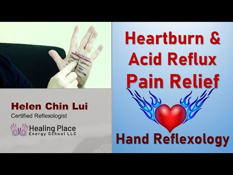 Is Your Heartburn and Acid Reflux Overwhelming You? - Hand Reflexology Tip