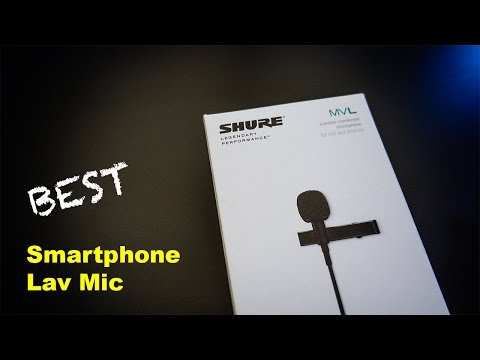 SHURE MVL - BEST Lavalier Microphone