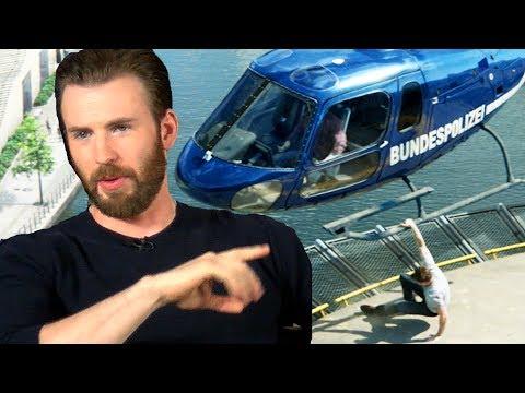 Chris Evans Talks Bulging Biceps & Helicopter Scene In Captain America Civil War