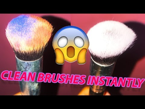 CLEAN & DRY YOUR MAKE UP BRUSHES IN SECONDS | Luxe Makeup Brush Cleaner