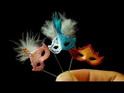 Miniature Masquerade Mask Tutorial