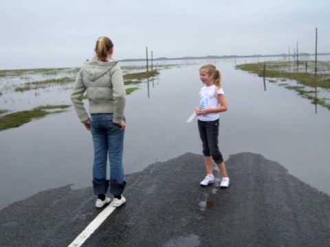 The Causeway (Holy Island) Janine & Sherri