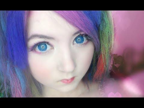 How To: Temporary Rainbow Hair