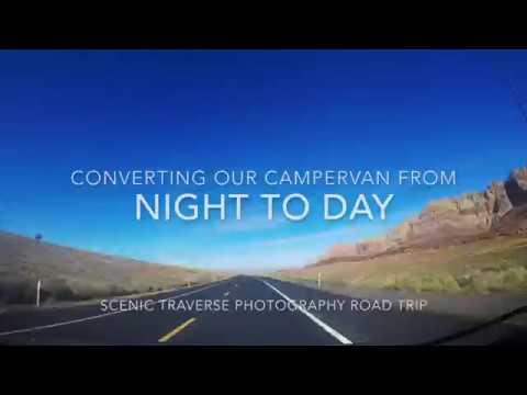 Scenic Traverse Road Trip: Van Conversion Time Lapse