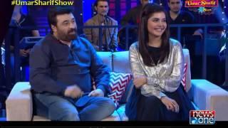 The Umar Sharif Show | 15-Jan-2017 | Yasir Nawaz | Nida Yasir
