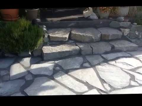 How to Install Flagstone Patio