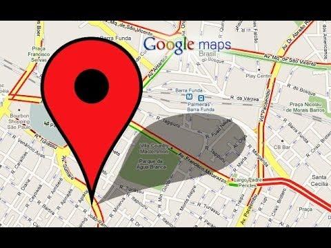 Como saber as coordenadas de algum ponto com Google Maps