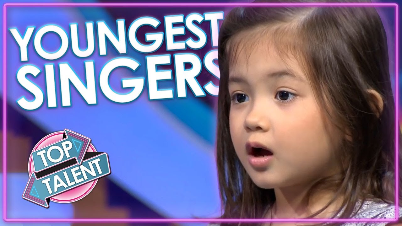 Are These The YOUNGEST Singing Auditions Ever On Got Talent And Idol?   Top Talent