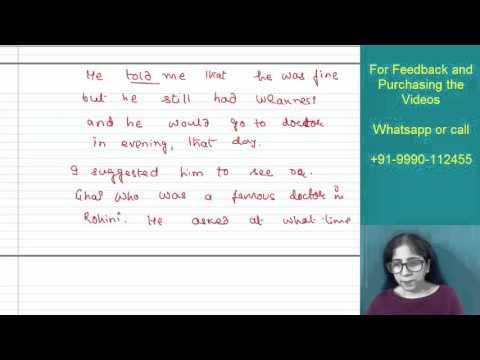 Learn Good English Writing Skills and Speaking Skills through Video online Classes by Padma Jain