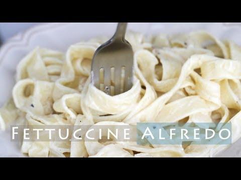 Easy Fettuccine Alfredo Recipe - Alfredo Pasta & Sauce 알프레도 파스타 만들기