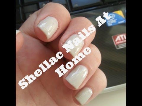 Shellac Nails at Home