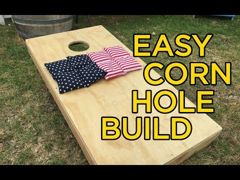 Cornhole build that will blow your mind!