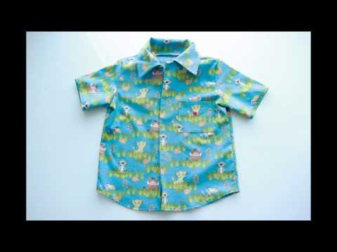 Boy's Shirt - Simplicity 8180 Pattern - How I sewed the collar