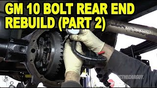 #ETCGDadsTruck Axle/Differential Rebuild (Part 2)