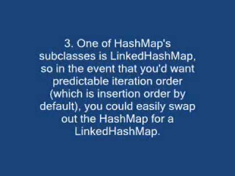 Differences between HashMap and Hashtable?