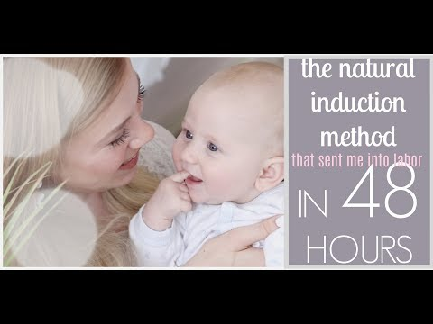 HOW TO INDUCE LABOR AT HOME FAST | Ways to Naturally Induce Labor | Natural Pregnancy and Birth Plan