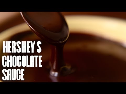 HERSHEY'S जैसा चॉक्लेट सॉस बनाए घर पर | Chocolate Sauce Recipe in Hindi | Simple Chocolate sauce