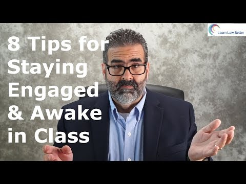 8 Tips for Staying Engaged & Awake in Class
