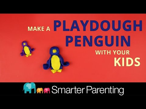 How To Make A Play-Dough Penguin DIY: A Following Instructions Activity