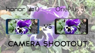 Honor View 10 vs OnePlus 5T: Camera Shootout