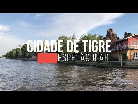 CONHECENDO A CIDADE DE TIGRE - TRIP - Argentina - Tigre - 2017
