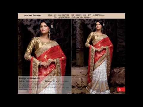 Latest designer saree online By Andaaz Fashion Malaysia