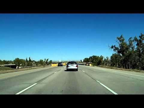 Interstate 70, Peña Drive to Denver International Airport Dashcam