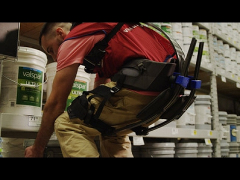 Lowe's is developing an exosuit for employees